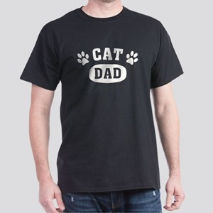 Cat Dad [b/w] Dark T-Shirt